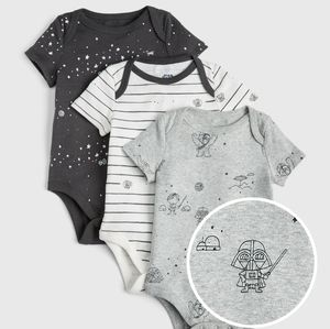3/$40 Baby Gap x star wars pair of 2 onesies